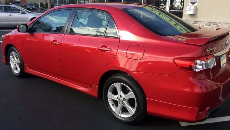 2012 Toyota Corolla S 4dr Sedan 4A - New Holland PA