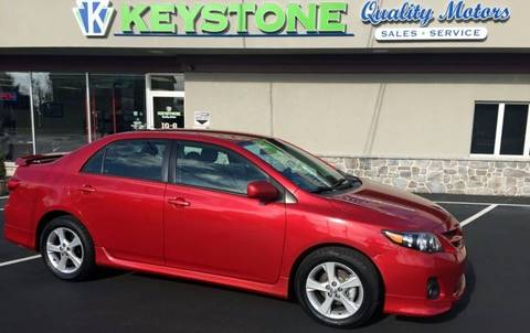 2012 Toyota Corolla for sale in New Holland, PA