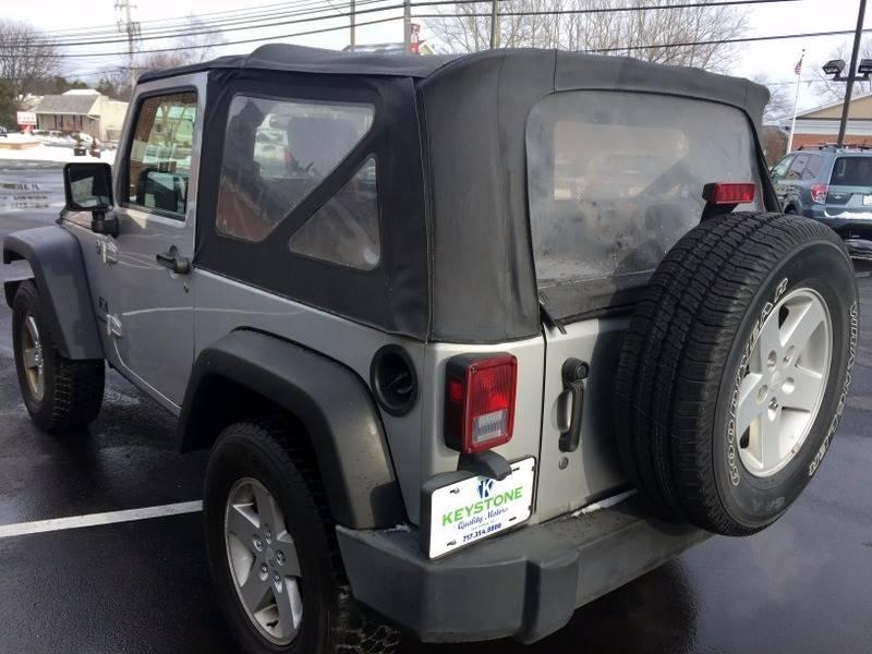 2007 Jeep Wrangler 4x4 X 2dr SUV - New Holland PA