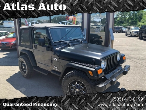 2004 Jeep Wrangler for sale in Rochester, NY