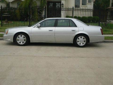 2002 Cadillac DeVille for sale in Houston TX