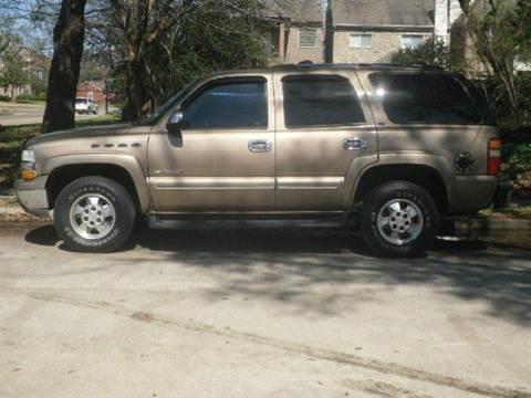 2003 Chevrolet Tahoe for sale in Houston TX