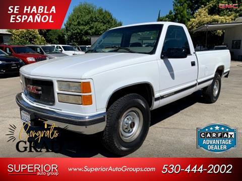 1999 GMC Sierra 2500 Classic for sale in Yuba City, CA