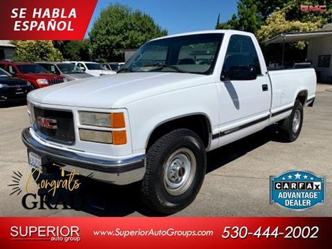 1999 GMC Sierra 2500 Classic for sale in Yuba City, CA