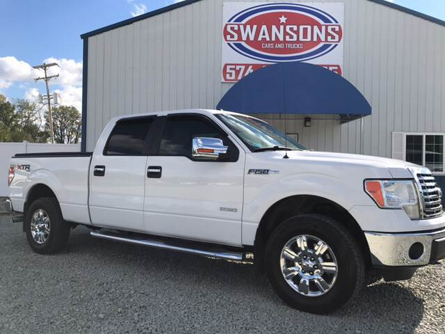 2011 Ford F-150 for sale at Swanson's Cars and Trucks in Warsaw IN