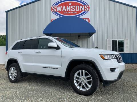 2017 Jeep Grand Cherokee for sale at Swanson's Cars and Trucks in Warsaw IN