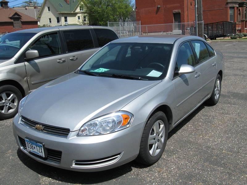 Used Cars Minneapolis >> 2007 Chevrolet Impala Ls 4dr Sedan In Minneapolis Mn Alex