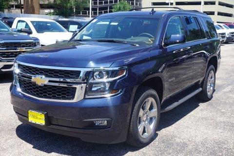 2017 Chevrolet Tahoe for sale in Houston TX