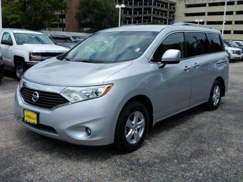 2015 Nissan Quest for sale in Houston, TX