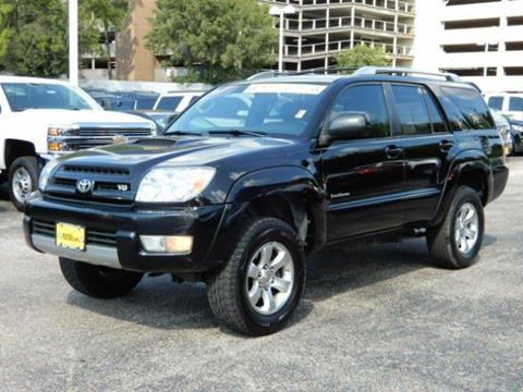 2004 Toyota 4Runner for sale in Houston TX