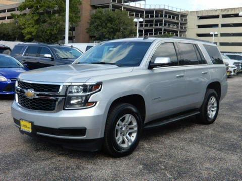 2015 Chevrolet Tahoe for sale in Houston, TX