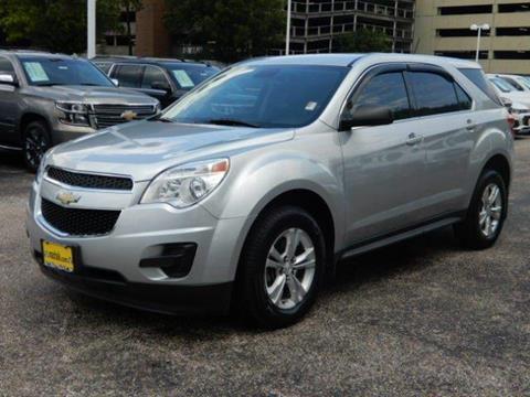 2015 Chevrolet Equinox for sale in Houston TX
