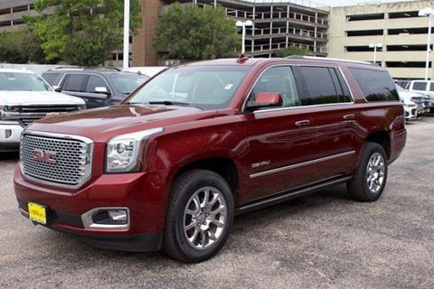 2016 GMC Yukon XL for sale in Houston, TX