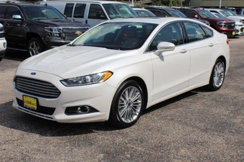 2014 Ford Fusion for sale in Houston, TX
