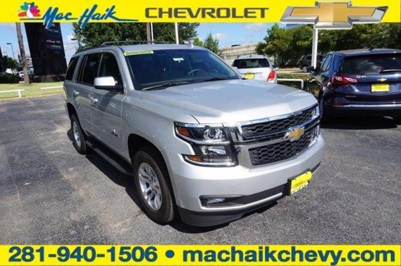 2018 Chevrolet Tahoe For Sale At MAC HAIK CHEVROLET In Houston TX