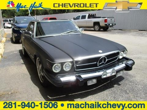 1983 Mercedes Benz 380 Class For Sale In Houston Tx