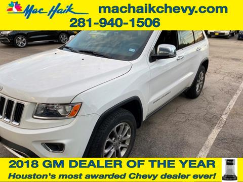 2015 Jeep Grand Cherokee for sale in Houston, TX
