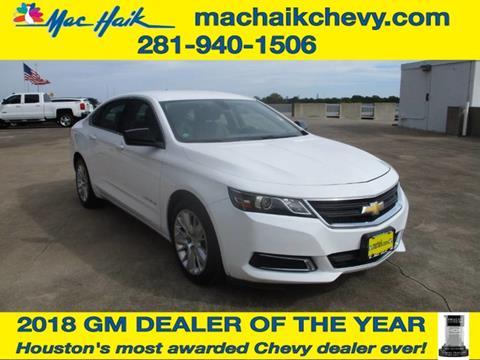 2015 Chevrolet Impala for sale in Houston, TX
