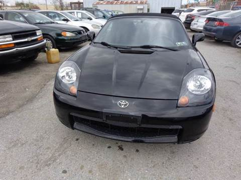 2004 Toyota MR2 Spyder for sale at Philadelphia Public Auto Auction in Philadelphia PA