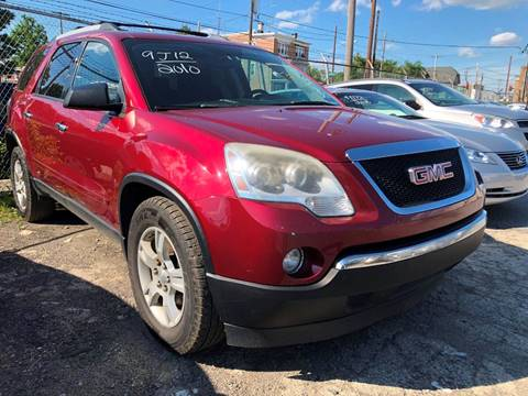 2010 GMC Acadia for sale at Philadelphia Public Auto Auction in Philadelphia PA