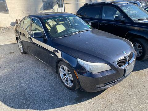 2009 BMW 5 Series for sale at Philadelphia Public Auto Auction in Philadelphia PA