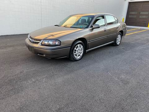 2003 Chevrolet Impala for sale at Philadelphia Public Auto Auction in Philadelphia PA
