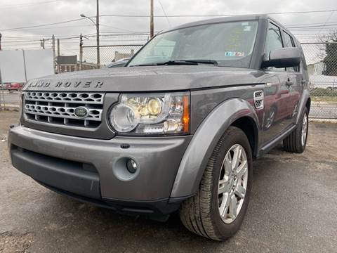 2011 Land Rover LR4 for sale at Philadelphia Public Auto Auction in Philadelphia PA