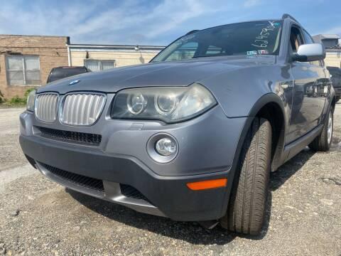 2007 BMW X3 for sale at Philadelphia Public Auto Auction in Philadelphia PA