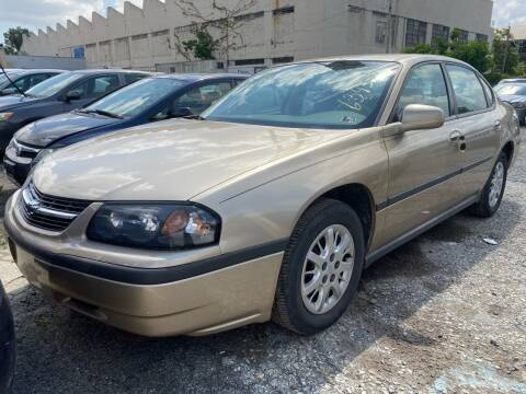 2004 Chevrolet Impala for sale at Philadelphia Public Auto Auction in Philadelphia PA