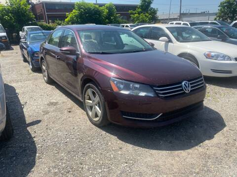 2012 Volkswagen Passat for sale at Philadelphia Public Auto Auction in Philadelphia PA