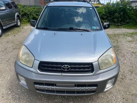 2002 Toyota RAV4 for sale at Philadelphia Public Auto Auction in Philadelphia PA