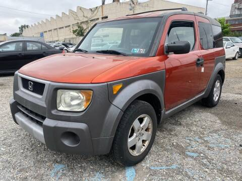 2004 Honda Element for sale at Philadelphia Public Auto Auction in Philadelphia PA