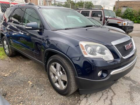 2011 GMC Acadia for sale at Philadelphia Public Auto Auction in Philadelphia PA