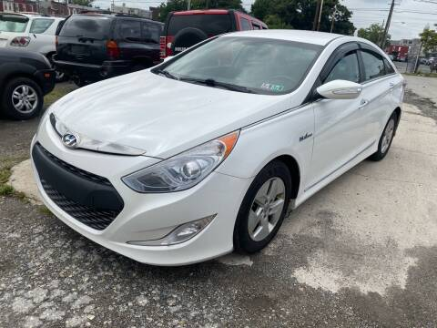 2012 Hyundai Sonata Hybrid for sale at Philadelphia Public Auto Auction in Philadelphia PA