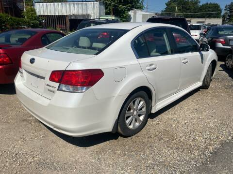 2011 Subaru Legacy for sale at Philadelphia Public Auto Auction in Philadelphia PA