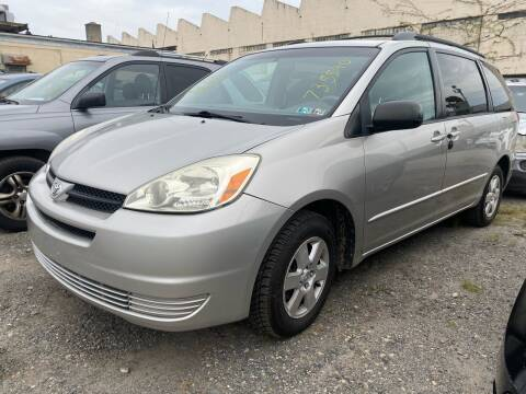 2005 Toyota Sienna for sale at Philadelphia Public Auto Auction in Philadelphia PA