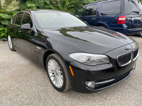 2011 BMW 5 Series for sale at Philadelphia Public Auto Auction in Philadelphia PA