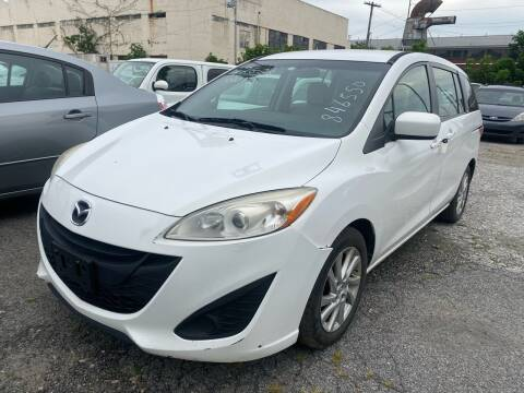 2012 Mazda MAZDA5 for sale at Philadelphia Public Auto Auction in Philadelphia PA