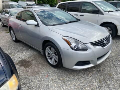 2010 Nissan Altima for sale at Philadelphia Public Auto Auction in Philadelphia PA