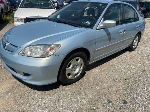 2005 Honda Civic for sale at Philadelphia Public Auto Auction in Philadelphia PA