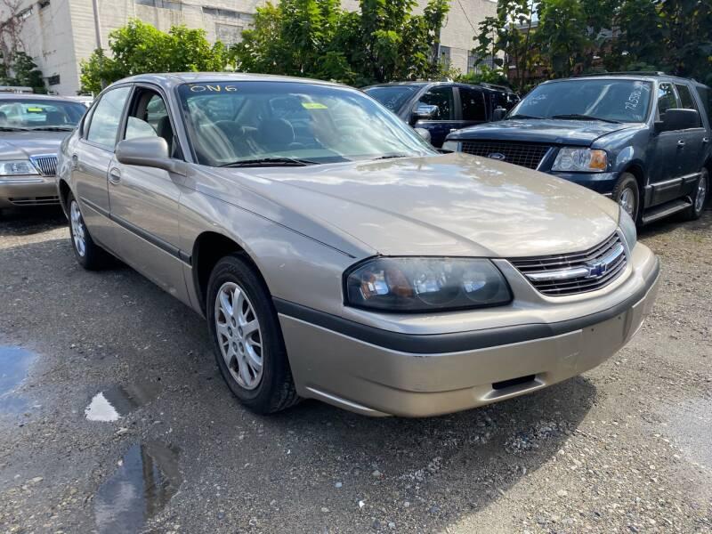 2003 Chevrolet Impala for sale at Philadelphia Public Auto Auction in Philadelphia PA