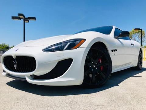 Used Maserati Granturismo >> 2015 Maserati Granturismo For Sale In San Jose Ca