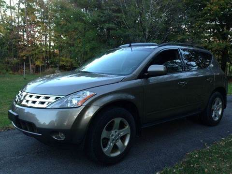 2004 Nissan Murano for sale at D & M Auto Sales & Repairs INC in Kerhonkson NY