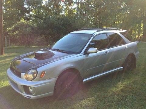2003 Subaru Impreza for sale at D & M Auto Sales & Repairs INC in Kerhonkson NY