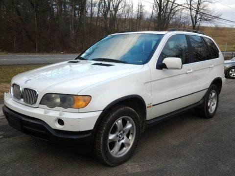 2002 BMW X5 for sale at D & M Auto Sales & Repairs INC in Kerhonkson NY