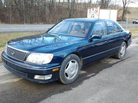 1999 Lexus LS 400 for sale at D & M Auto Sales & Repairs INC in Kerhonkson NY
