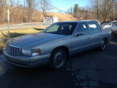 1997 Cadillac DeVille for sale at D & M Auto Sales & Repairs INC in Kerhonkson NY