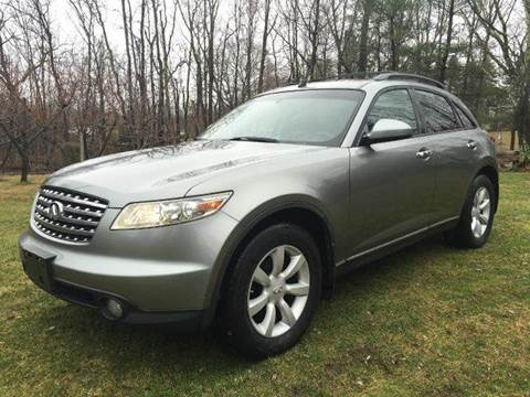 2005 Infiniti FX35 for sale at D & M Auto Sales & Repairs INC in Kerhonkson NY