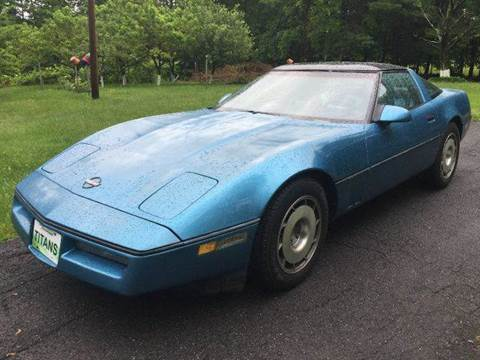 1987 Chevrolet Corvette for sale at D & M Auto Sales & Repairs INC in Kerhonkson NY