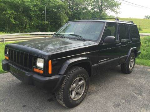 1999 Jeep Cherokee for sale at D & M Auto Sales & Repairs INC in Kerhonkson NY